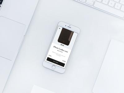 Anckor minimal shopping app