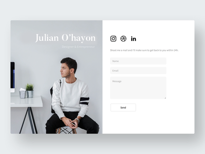 Personal website // julianohayon.com