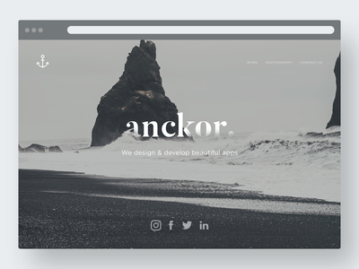 Agency website // Anckor