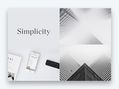 Minimal grid design // Simplicity monochrome flat clean web ui black typography simple design grid minimal