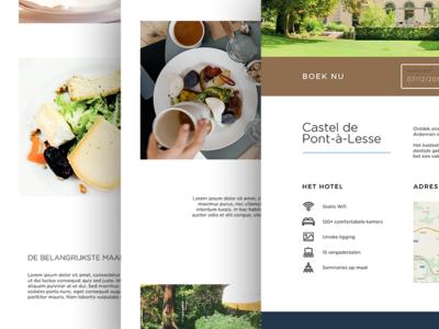 BestWestern / website grid resort hotel food minimal design website clean flat web ui