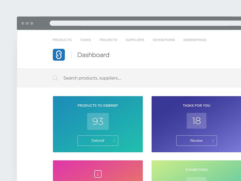 Dashboard wip. grid light clean panel website gradient webdesign minimal layout web ui dashboard