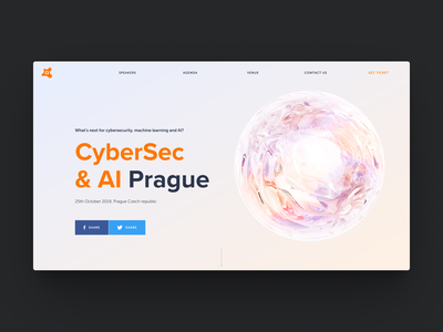 Avast CyberSec Conference 3d icon conference graphic design animation design web ui website motion graphics