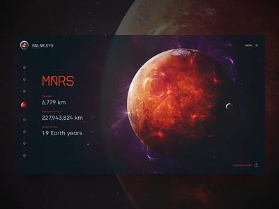Solar.sys – Solar system website concept logo icon app universe space concept planet solar ux graphic design 3d icons illustration website branding design web ui