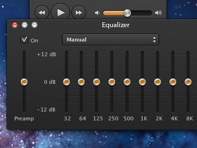 Equalizer by Andrey Rodrigues on Dribbble