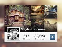 Instagram Profile Widget