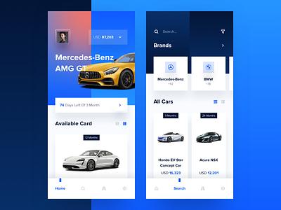 Carfor Car Sale App automotive auto sale vehicle car leasing checkout card website app dashboard design desktop interface ios creative landing typography ui ux