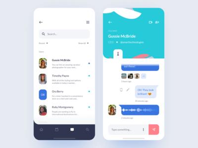Startmatcher Communication App