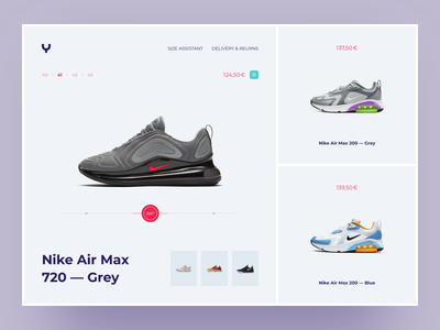 YouYoung Product Page splash flat shoes nike illustration chat fashion website app dashboard design desktop interface ios creative landing typography ui ux