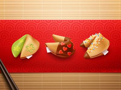 Chinese Magic Cookies