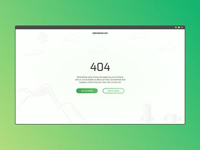 Error 404 page | DailyUI web 404 error website ui design dailyui
