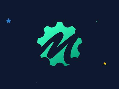 Merlin logo product identity logo branding