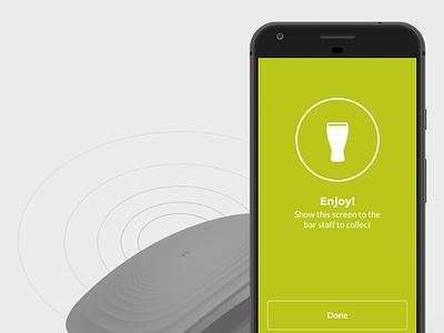 ExpertPass  bluetooth app mobile ui ux