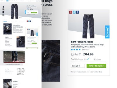 Ecommerce  website responsive ui ux fashion commerce