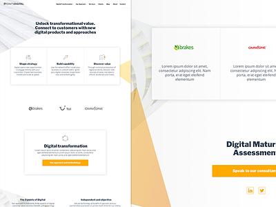 3PointsDigital screens agency website responsive ui ux
