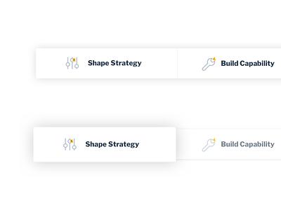 3PointsDigital screens site hover navigation