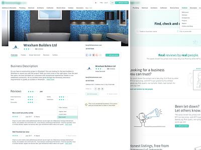 Ratings site responsive design ui ux ratings website ux design