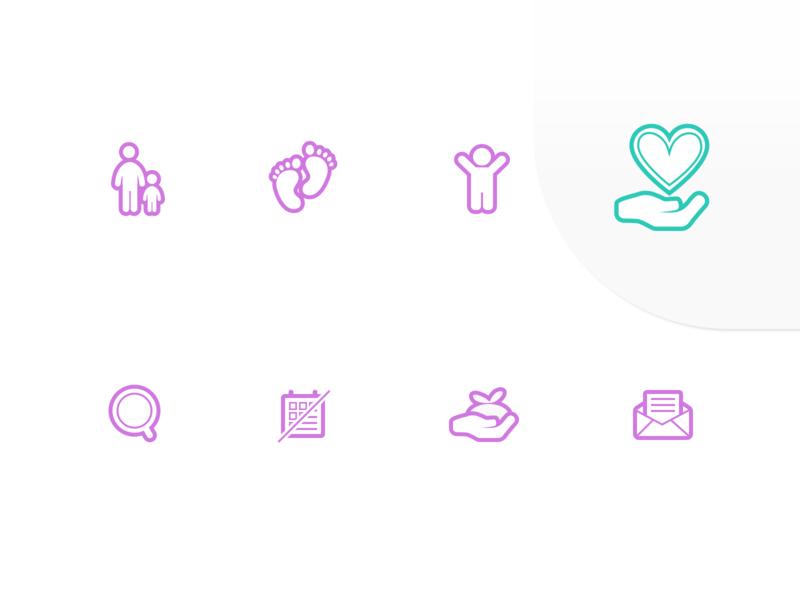 Tracks navigation icons vector website illustration uidesign school icons design