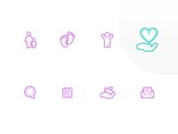 Tracks navigation icons