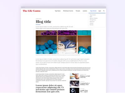 The Life Centre Blog