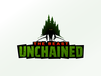 The Beast Unchained bike brand design trees logo event mtb
