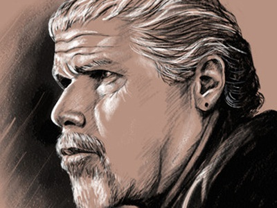 Clay Morrow (Ron Perlman) - Sons of Anarchy ron perlman sons of anarchy clay morrow