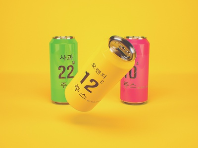 주스 vray 3d brending juice korean banks design motion-design