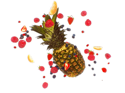 Fruits vray 3d design anim motion-design