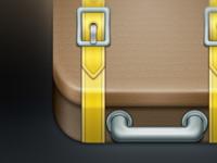 Suitcase iPhone App Icon #WIP