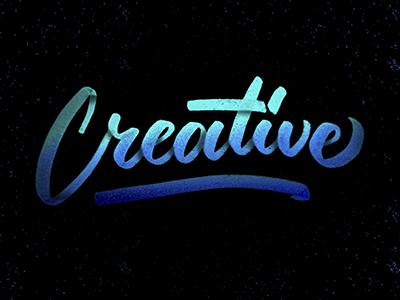Creative logo design calligraphy brushpen brush composition typography handlettering lettering