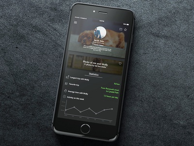 UI/UX mobile application design for Dogeee profile dogs iphone 7 iphone mobile application ux ui