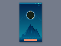 Solar Eclipse as progress in app