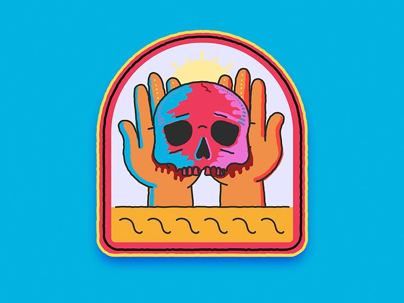 Skull  for my son illustration 2d adobe illustrator