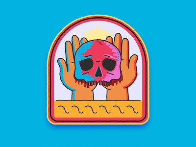 Skull  for my son illustration 2d adobe illustrator