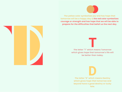 LOGO TD vector illustration graphic design design branding logo