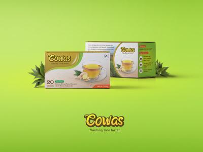 Cowas Packaging Design label package design packaging design branding