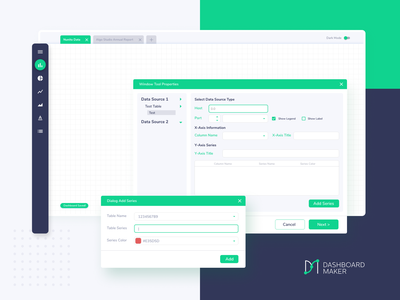 Dashboard Maker @design interface interaction design app dashboard web ui ux uxdesign uidesign design