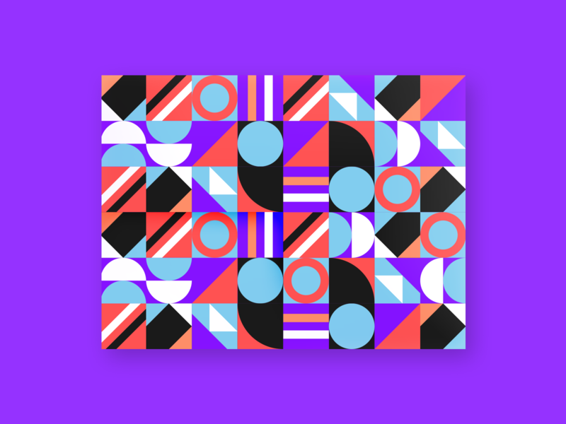 Pattern design clever simple lines illustration branding ui brand identity mark abstract pattern