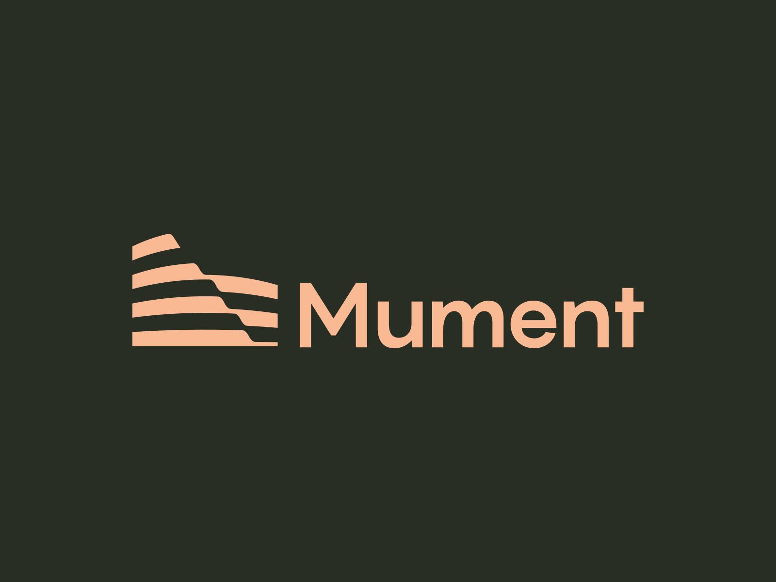 Mument Logo Design