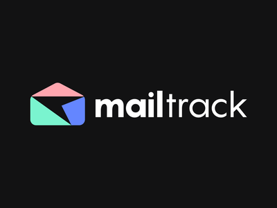 Mailtrack Logo Design delivery app post poster delivery uiux ui initial branding mailbox track mail simple lines brand identity symbol mark logo