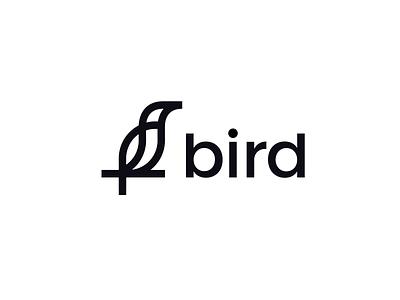 Bird Logo Design identity design branding design brand design elegant minimal cute eagle bird brand identity branding clever animal abstract simple lines brand identity symbol mark logo