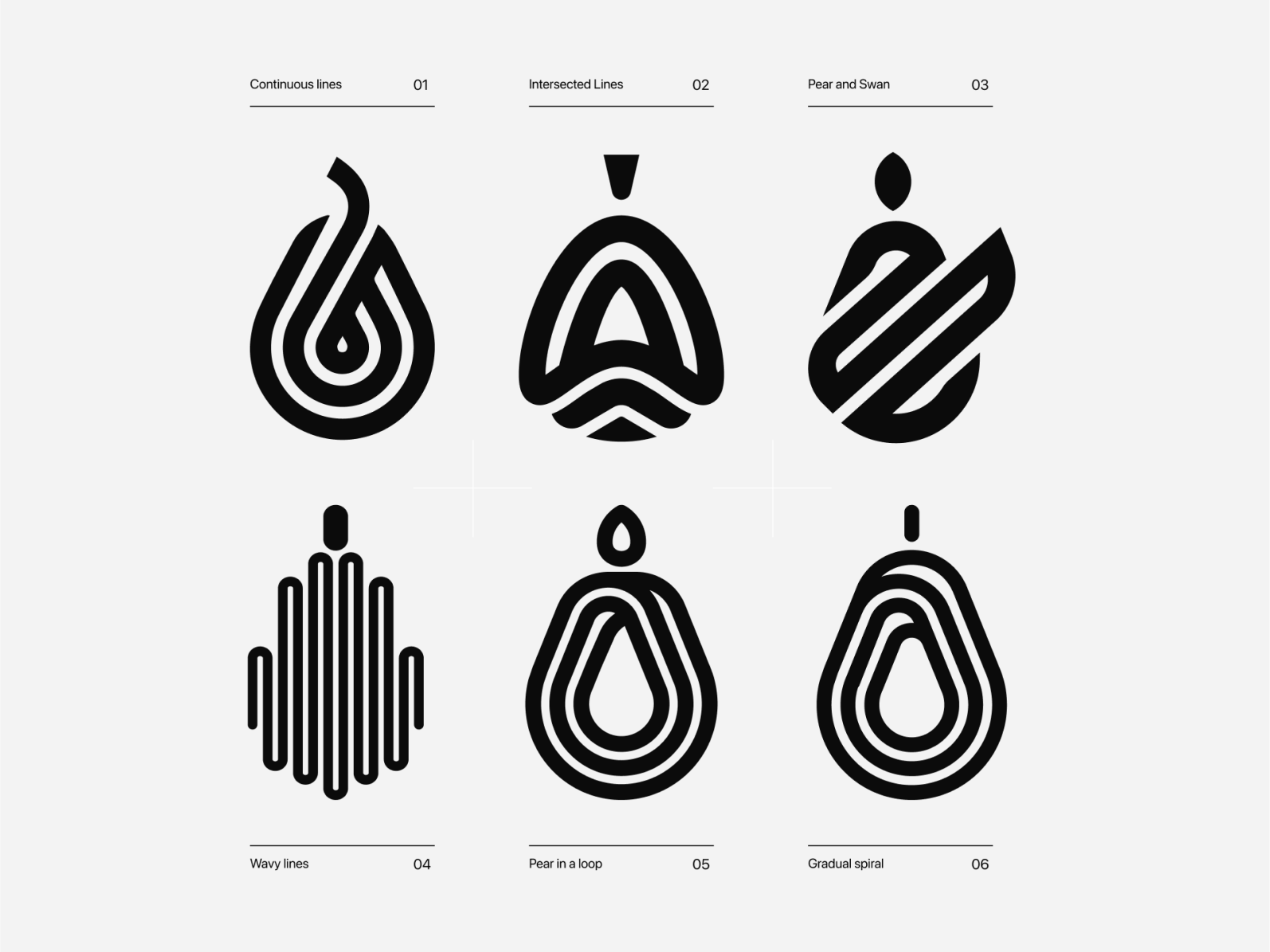 Pear Logo Designs