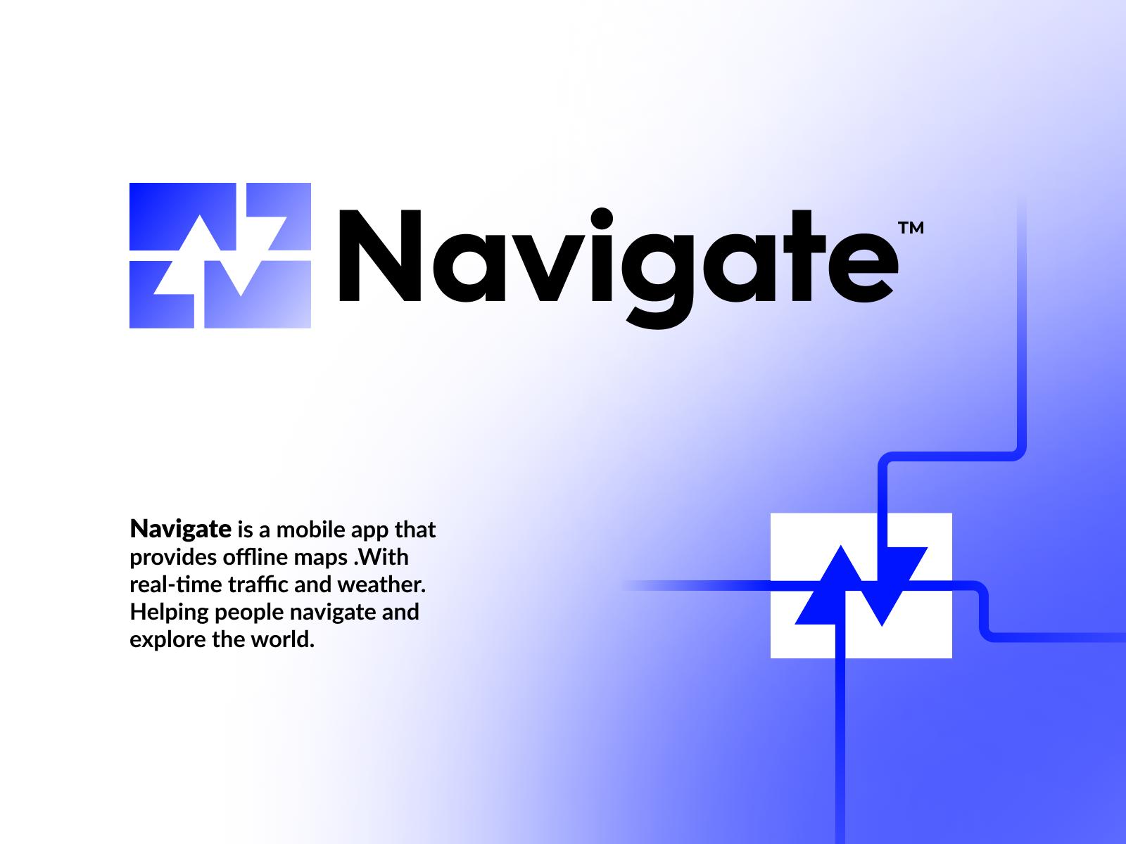 Navigate Logo Design