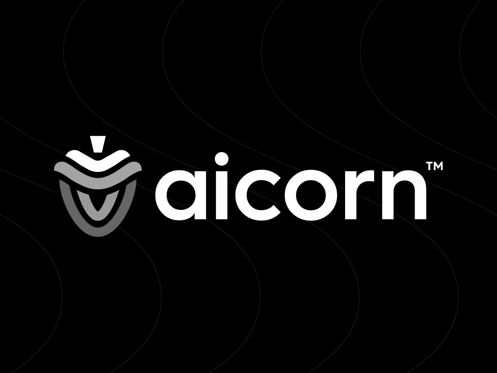 Aicorn Logo Design