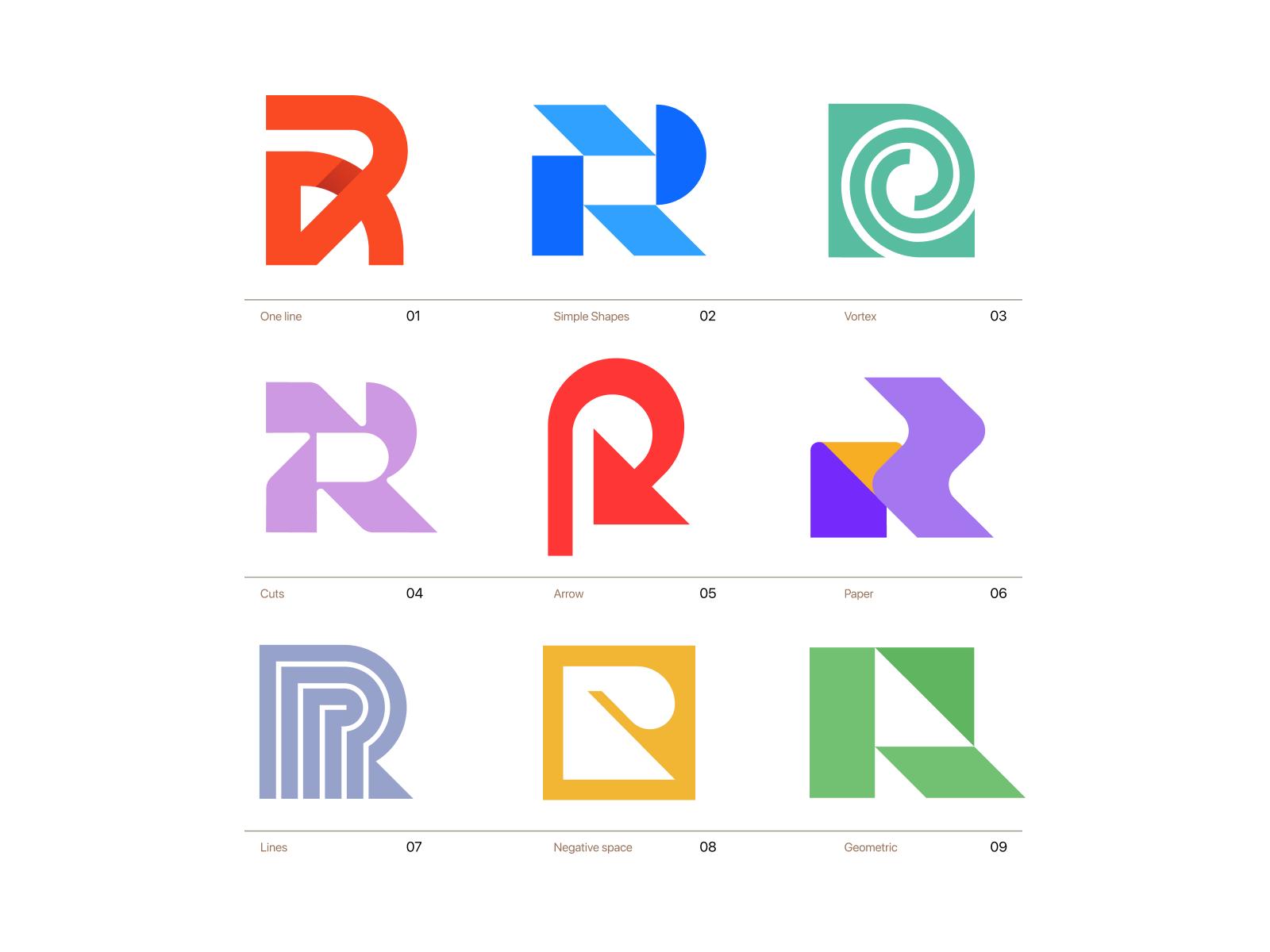R Logo Concepts