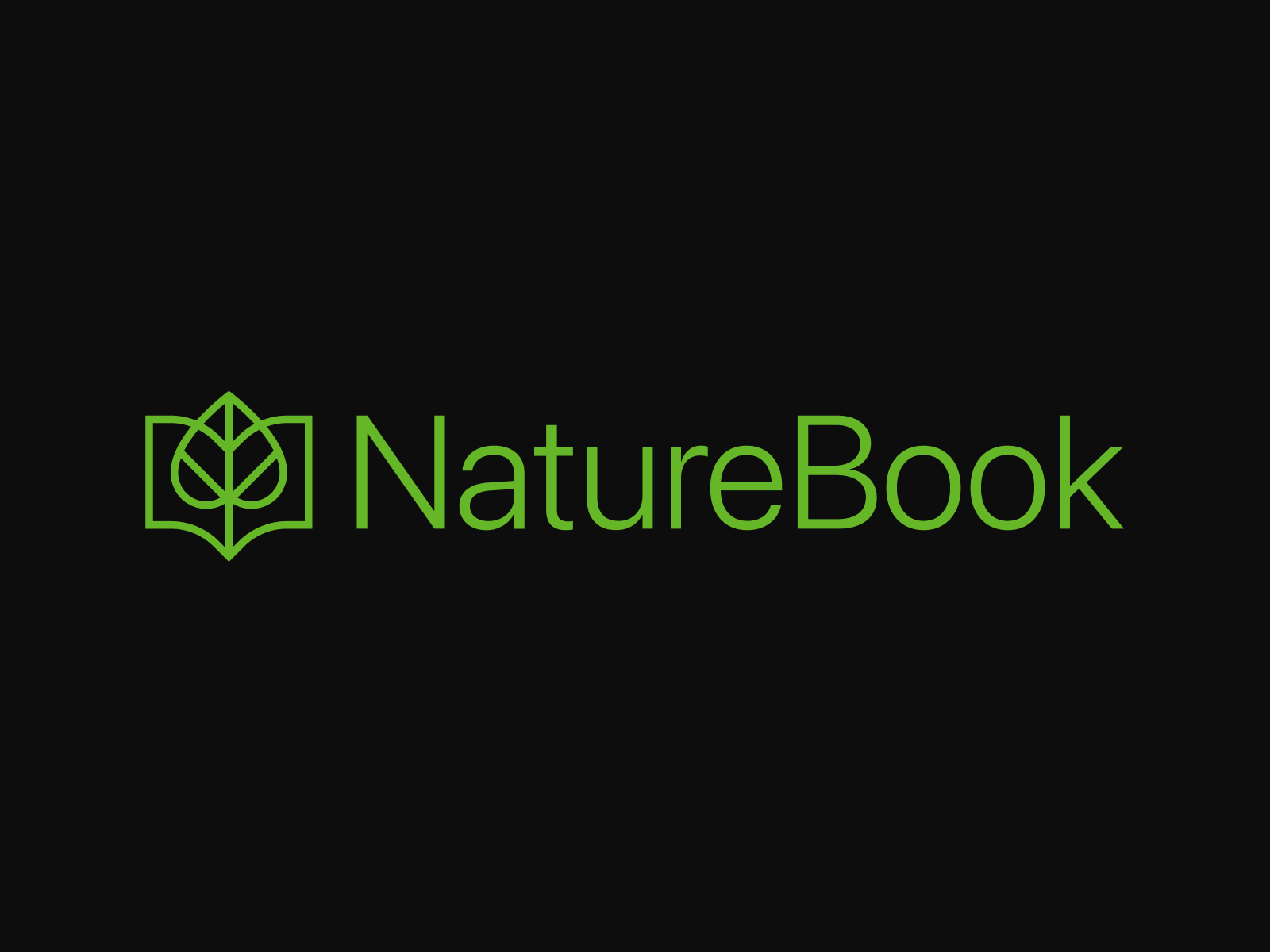 Nature Book Logo Design