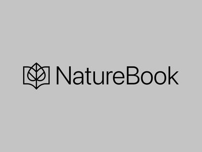Nature Book Logo Design organic natural abstract strong elegant lines design simple brand identity symbol mark logo plants store online book nature