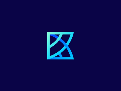 K , monogram , logo symbol