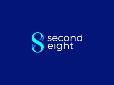 S8 - SecondEight initial mark identity brand personal logo eight second s8