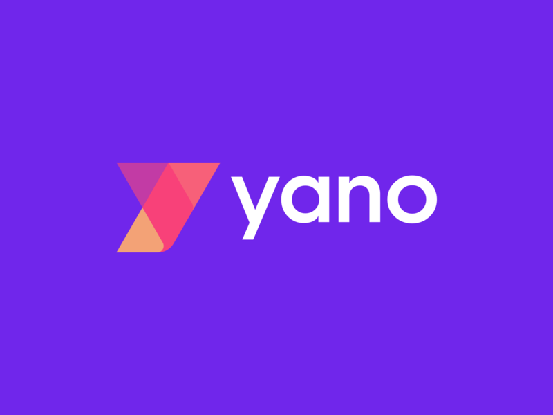 Yano Logo Design initial y abstract simple lines brand identity symbol mark logo